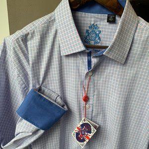 English Laundry Dress Shirt Size 18 XXL